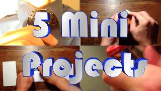 5 Tips Tricks And Mini Projects To Do At Home
