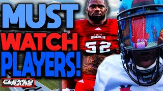 14 XFL Players With STAR Potential! (Former NFL/ College Football Players)