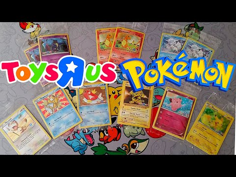 Pokemon Toys R Us Promo Cards