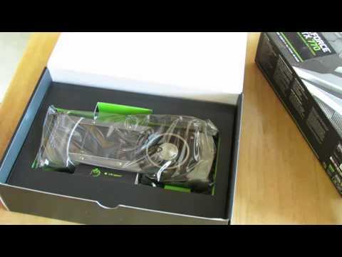 Nvidia GeForce GTX 770 2GB Unboxing