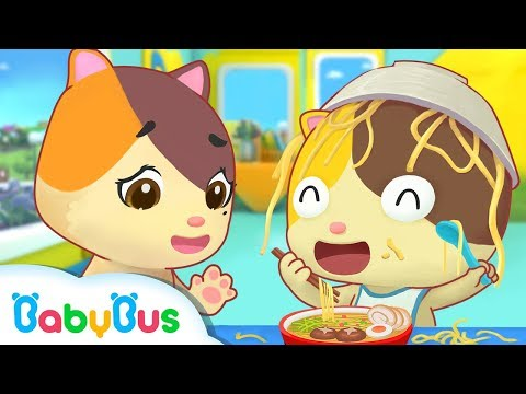 Eat by Myself   Kids Good Habits   Nursery Rhymes   Children Learning   Baby Song   BabyBus