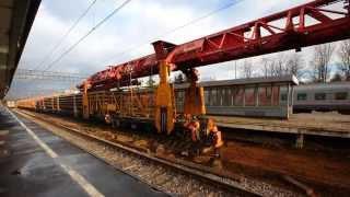 [RZD] Second main track reconstruction, Novgorod-na-Volkhove station