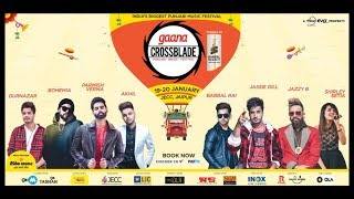Sagar Lalwani and Olvin David Live at Crossblade Punjabi Music Festival Jaipur