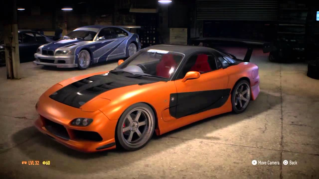 Need for speed 2015 Hans Mazda RX7 Fast and Furious Tokyo Drift