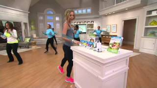 Leslie Sansone Miracle Miles 5 DVD Set with Sculpting Band & Gloves on QVC