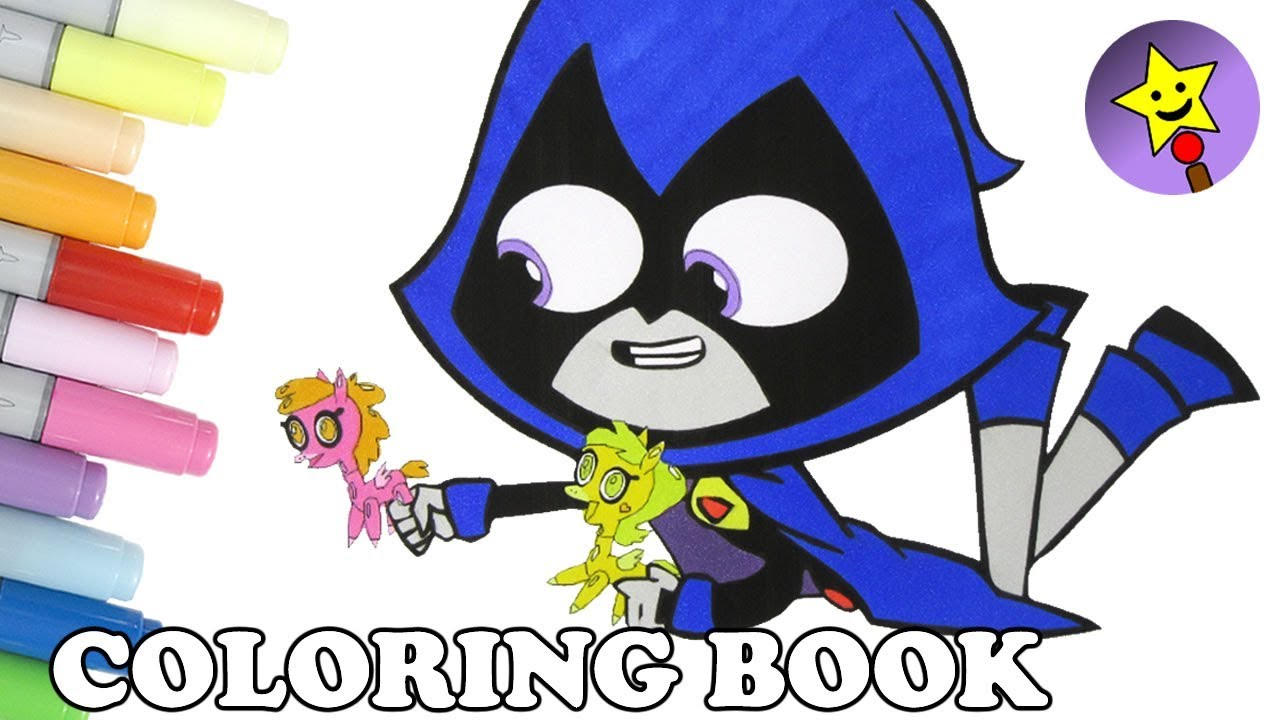 teen titans go coloring book page raven pretty pretty pegasus teen