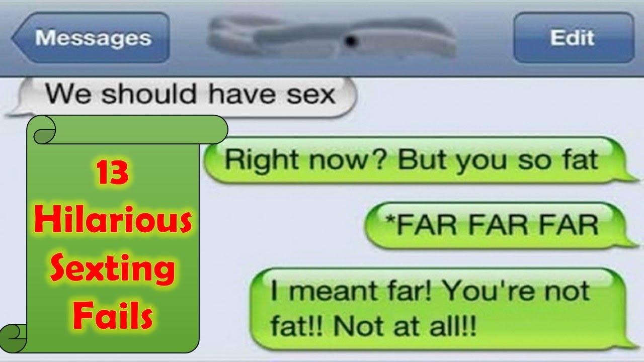 funny sext fails
