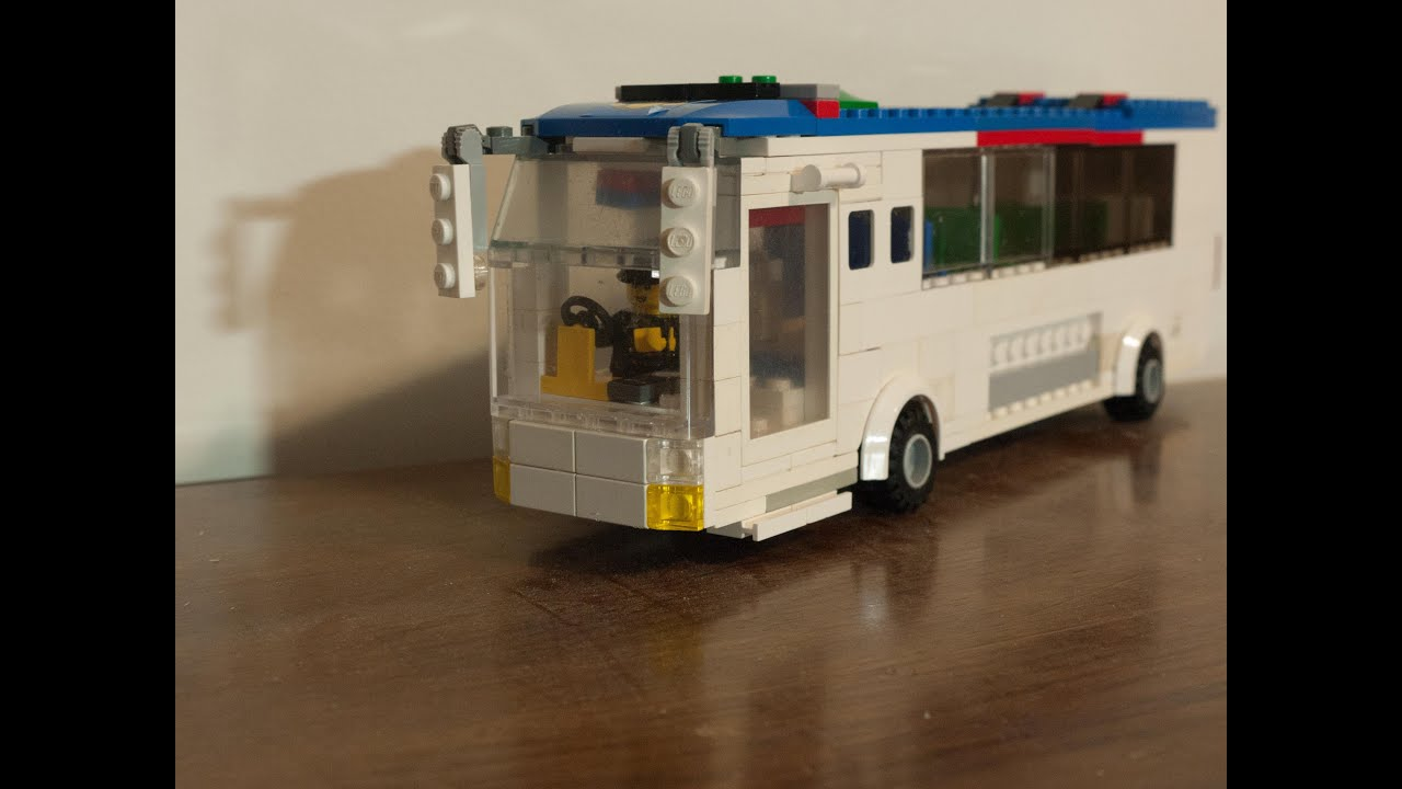 ever popular great deals new style Lego Bus/Coach MOC