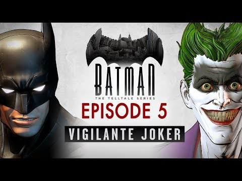Batman: The Enemy Within - Episode 5 - Same Stitch (Vigilante Joker - Full Episode)