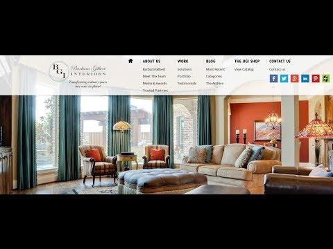 Interior Designer Barbara Gilbert Interiors Design Review with Jennifer Bagley, CI Web Group
