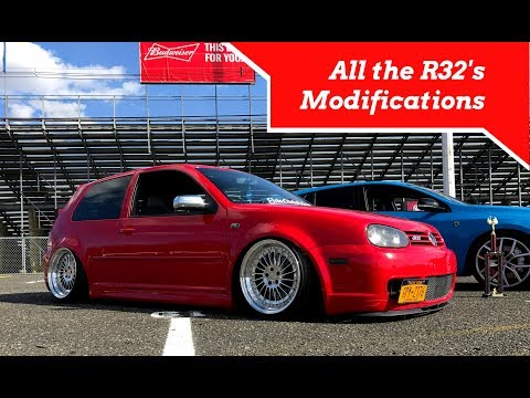 All the R32s Modifications