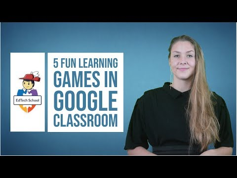 How to create learning games in Google Classroom