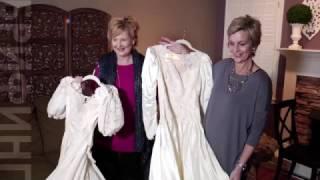 Две женщины спустя 30 лет вернули свои свадебные платья
