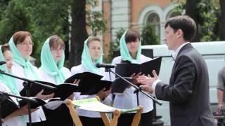 Открытый урок в воскресной школе Никольского храма г.Солнечногорска