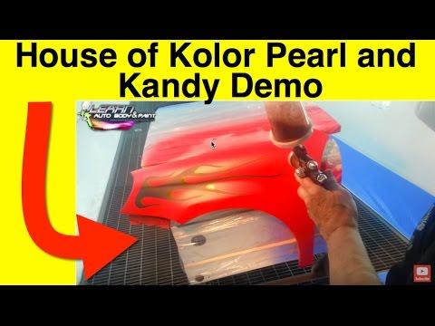 House Of Kolor Pearl Kandy Clear Coat Demo Jon Kosmoski Tony