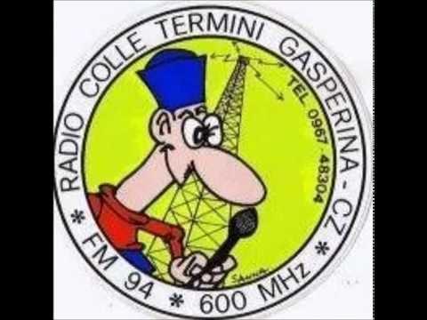RCT EFFETTO RADIO ANTONY MANAFO' RADIO COLLETERMINI GASPERINA 94600MGHZ
