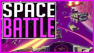 SPACE BATTLE - No Man's Sky
