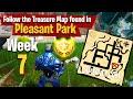 Follow the Treasure Map found in Pleasant Park - Fortnite Season 4 Week 7 Challenge