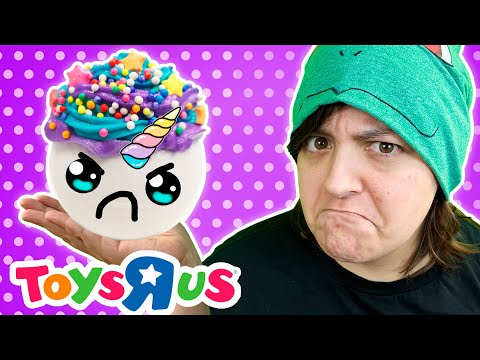ToysRus Disappoints Me! Testing 2 Unicorn Craft Kits Bath Bombs
