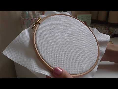 How to start cross stitching