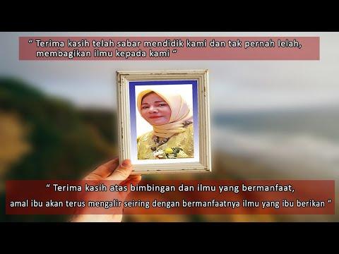 Paturay Tineung Ibu Kepala Sekolah, Hj. N.Oon, S.Pd Jasamu Akan Kami Kenang