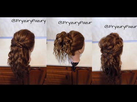 Fryzury Pazury 3 Fajowe Fryzury Dla Kręconych Włosów Bez Użycia Grzebienia