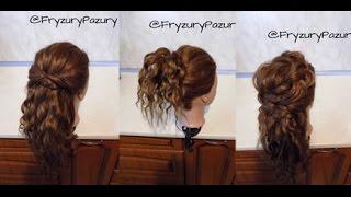 Fryzury Pazury - 3 Fajowe fryzury dla kręconych włosów Bez użycia grzebienia!