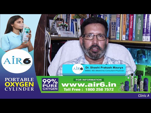 Post-Covid complications: Symptoms and treatment explained by Dr Shashi Prakash MD Medicine Lucknow