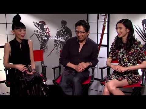 HIROYUKI SANADA, TAO OKAMOTO, AND RILA FUKUSHIMA  for THE WOLVERINE