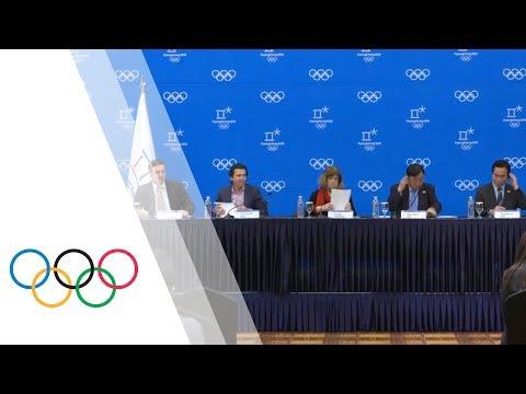 IOC Coordination Commission Press Conference PyeongChang 2018