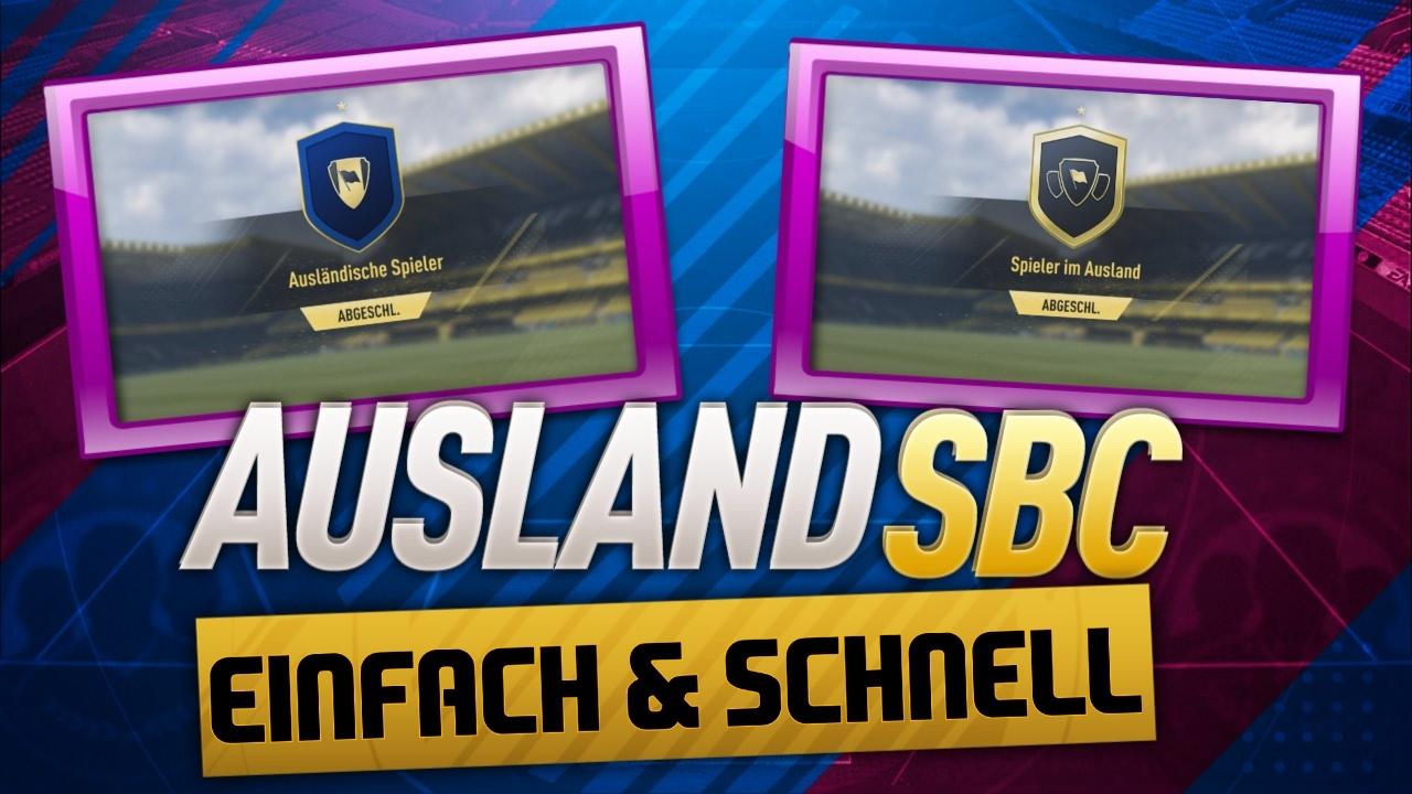 Squad Building Challenge Spieler Im Ausland