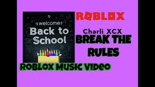 Charli XCX - Break the Rules [ROBLOX MUSIC VIDEO]