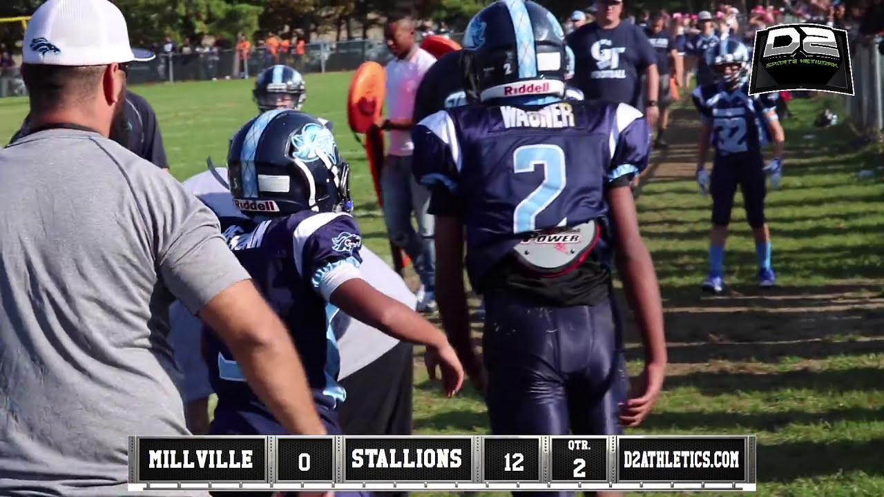 Game Of The Week Millville Vs Gt Stallions Jr Hd Youtube