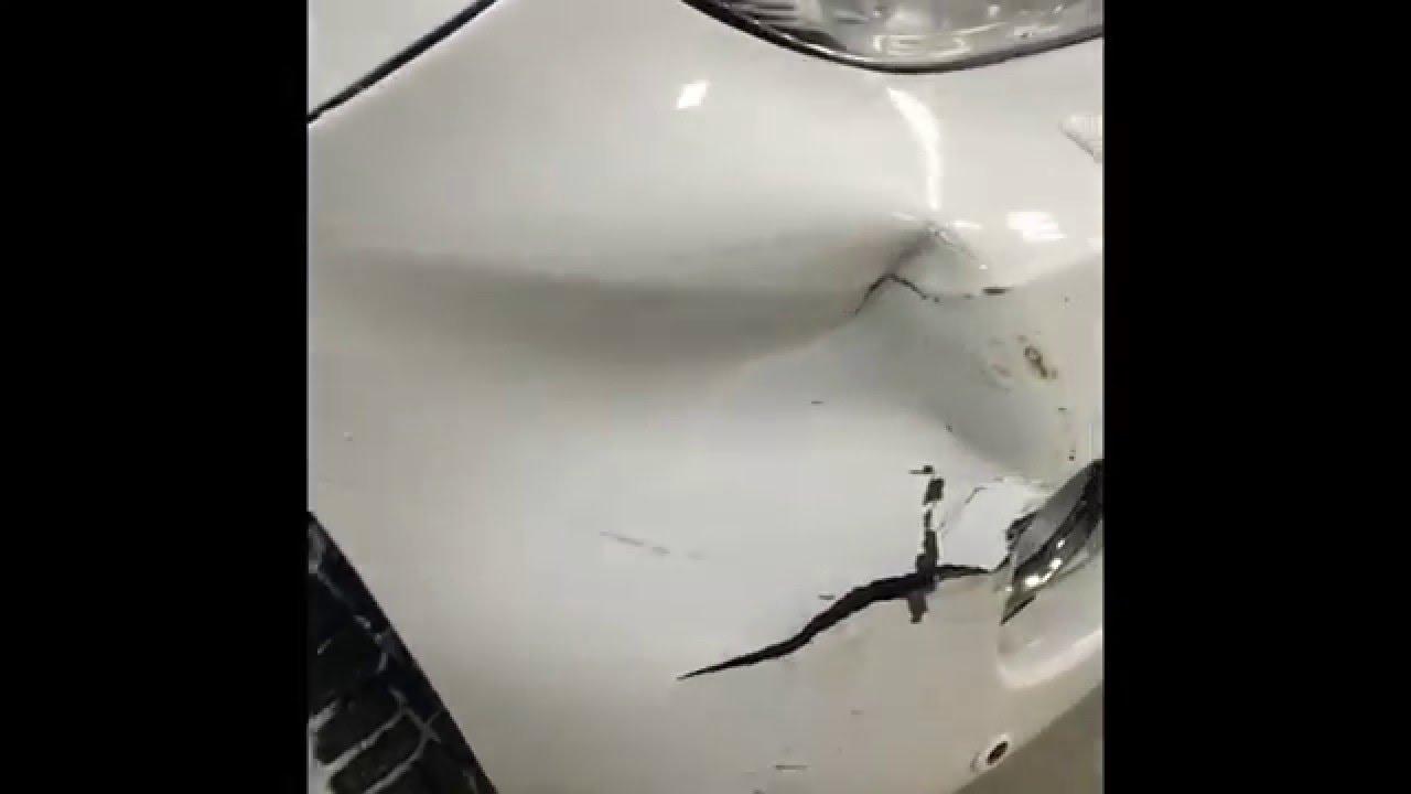 Ремонт, покраска крыла и бампера Toyota Land Cruiser Prado