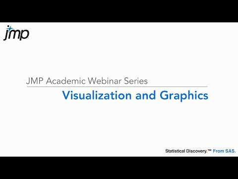 Visualization and Graphics in JMP (Sept 27th 2016)