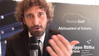 Presentazione Nuova Golf da Reggini con Le Iene Filippo Roma, Stefano Corti e Alessandro Onnis