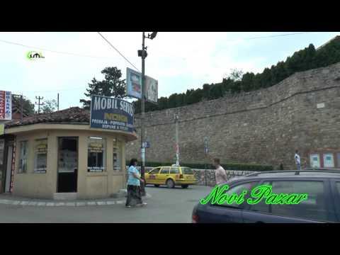 NOVI PAZAR - KAMEROM IML TV KROZ PAZAR I OKOLINU - 2016. (IML TV)