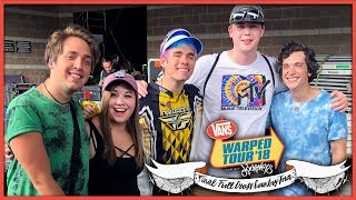 HANGING BACKSTAGE WITH WATERPARKS | FINAL WARPED TOUR 2018