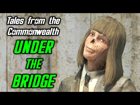 Fallout 4 Under the Bridge Quest - New Companion and Silver Shroud Returns! Tales from Commonwealth