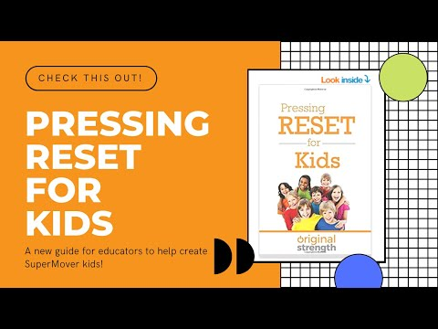 *New* Pressing Reset for Kids Guide for Teachers