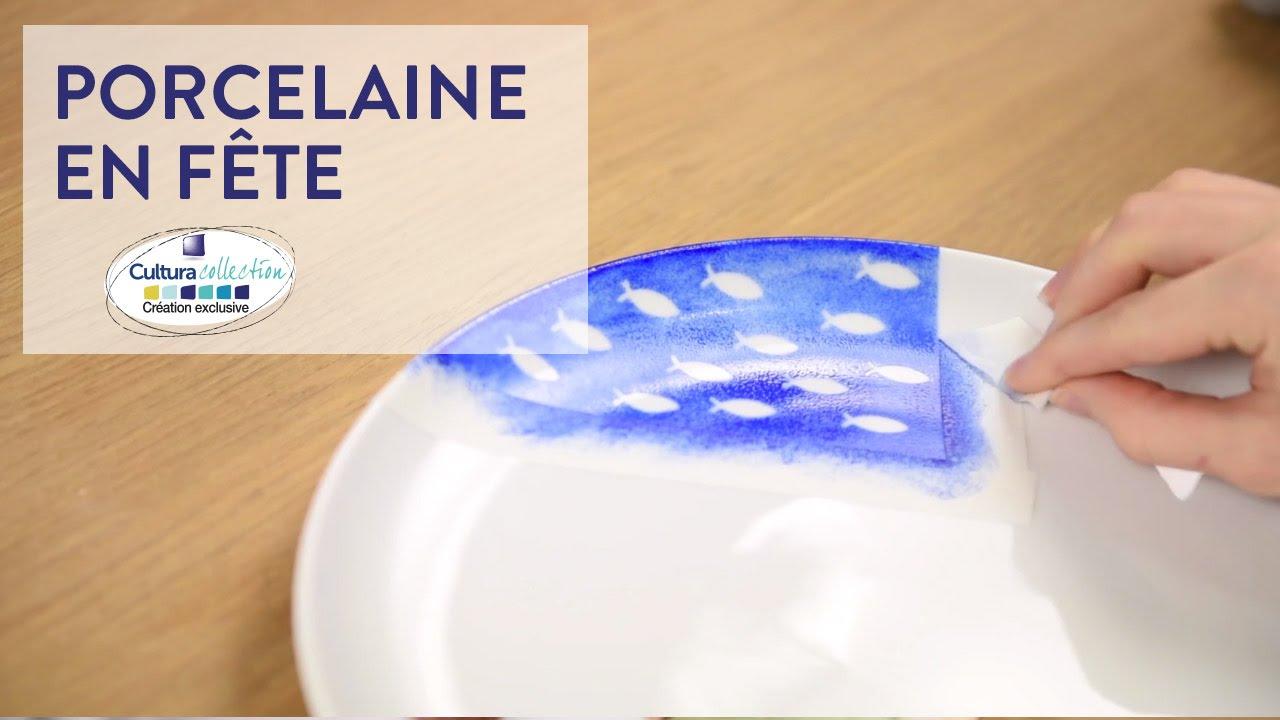 Peinture Sur Porcelaine Assiette diy créatif : idées décoration sur porcelaine