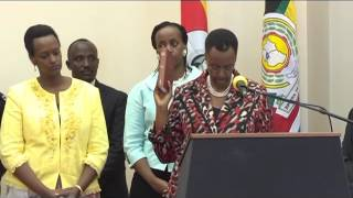 Janet Museveni sworn in as Education and Sports minister