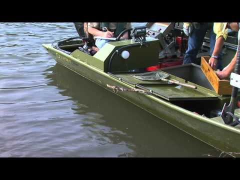 Shocking and removing bass from Beaver Lake