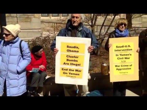 Rally Yale Law School - End the Saudi-U.S. War on Yemen