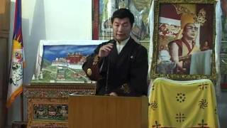 Kalon Tripa Launches Tibet Policy Institute