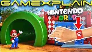 2 Super Nintendo World Rides Officially Announced! + Wristbands have Switch Connectivity?!