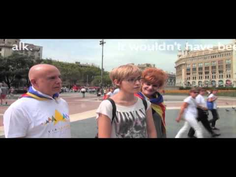 TooneTV :  Catalonia Independence Demonstration 2015 Part Two