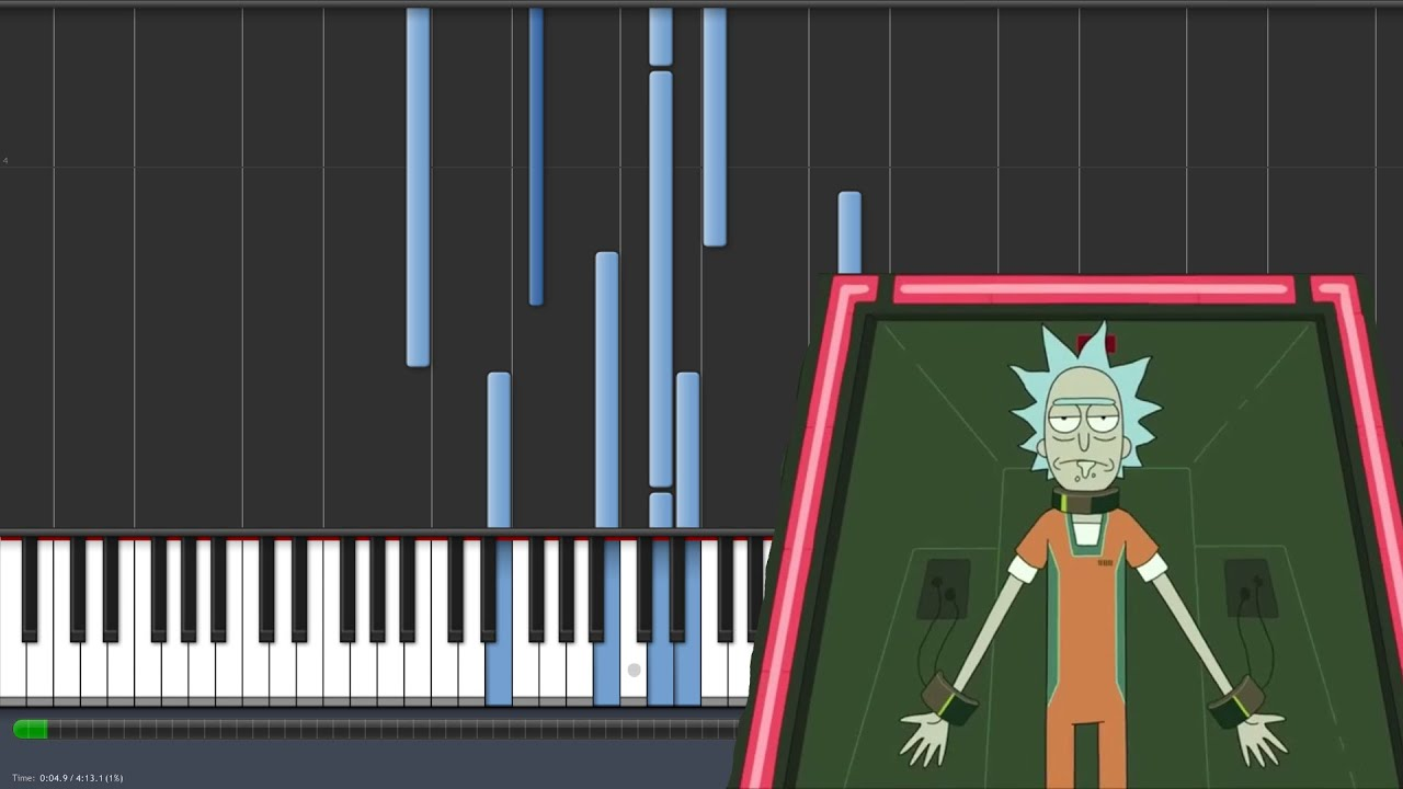Hurt - Nine Inch Nails - Rick and Morty Ending [Piano Tutorial ...