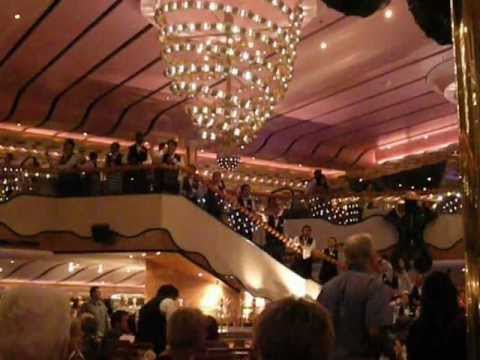 Carnival Splendor Gold Pearl Dining Room Farewell Song Youtube
