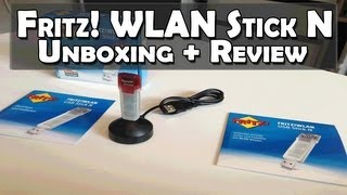 AVM Fritz! WLAN USB Stick N Unboxing + Review
